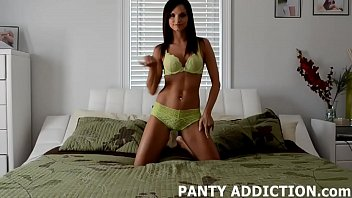 satin nylon panties silk Natasha casting with pierre woodman