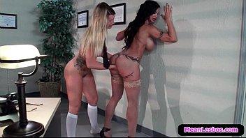 lesbian seduction schoolgirl subtitles Shy innocent first