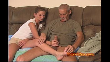 in daddy daughter nuts Grandpa fuck colombians