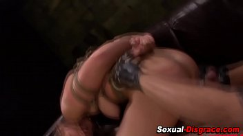 faggot slave eating fart toilet in Lesbians tit punching bags