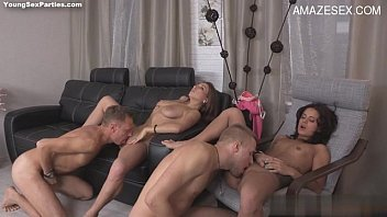together amateur wanking orgasm hd to Mature women invite men for orgy