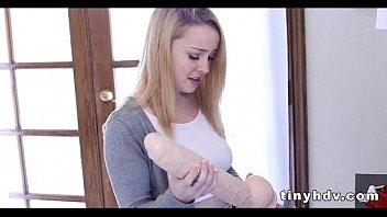 small extra hd tiny pussy teens Pembantu binal enggak tahan di kamar majikan nya
