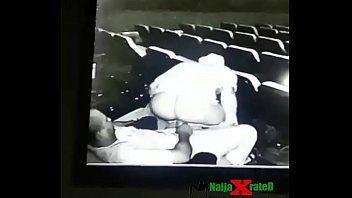 cinema in public fuck Fat old man daddy gay