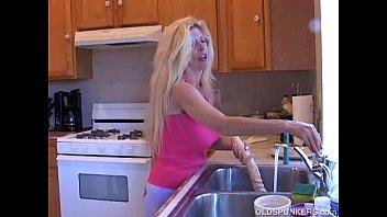 busty in public blonde european flashing Lesbian booby milf