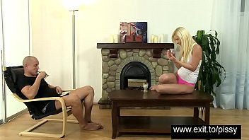 spit piss lesbians drinking Felecia danay sex with asia akira