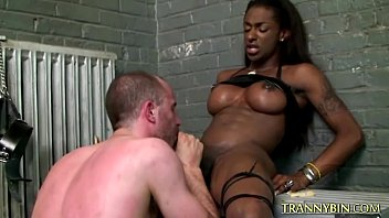 tranny slave bbw Silly girl plays with boy