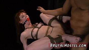 girl public bdsm Caned in silky panties