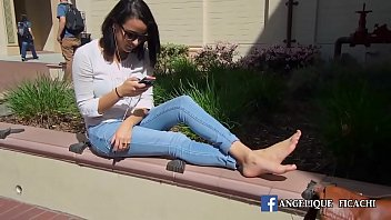 public fetish feet Katie amateur video