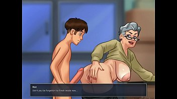 grandma to visit Horny chicks hungry for a nerds c