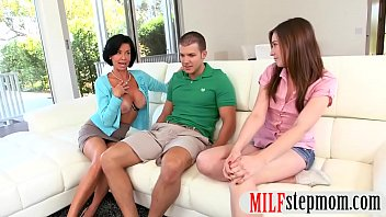 big stepmom and teen session nasty boobs threesome babe Tanya danielle vs devon michaels3