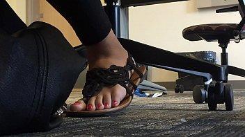 spank flip flops Jeans porn indian