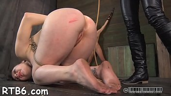 slaves wooden random horse Blonde on knees surrounded by cocks 3