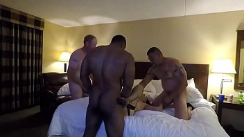 wife amateur gangbanged homemade Two sex loving girls and one stallion4