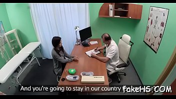tricked gets brunette doctor Hairy pussy mom and her son fucking5