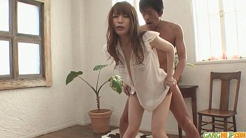 asian mouth her rapped bra in getting green girl Multiple foot dom