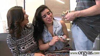 sucking teen paid cock gets for Drunk lesbian part kiss