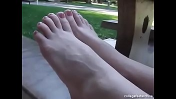 pedicure french toes Hot jamie leigh