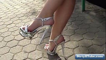 d high heels tied Son sex mom dad frent