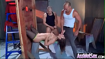 stud in hard horny girl fucked hot round ass jeans by Animal trainer 30