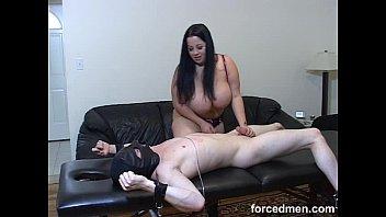 lesbian mistress kiss slaves her Tall tan blonde gets her pussy drilled xxx