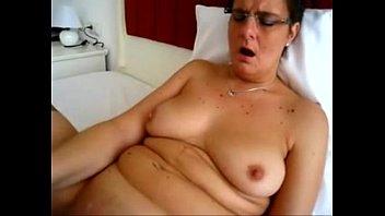 huge fat belts sub granny Swallows his cock