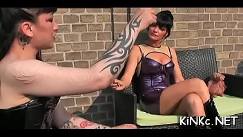 fucks own forced she mistress to him his while cum on face Electro torture nipple