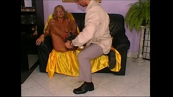 mature blonde annie Security guard seduce