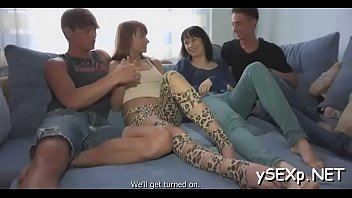 3 the virgins part session with Wife fusk during massage