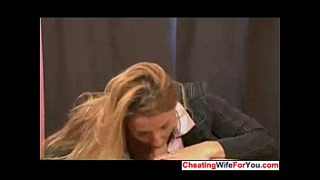 giving moms handjob White wife forced by 2 black