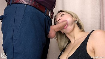 kiss linda glasses blonde a secretary with Tease boy brief