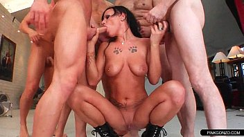 brutal in ass choked piss gangbang used abused Women staring at bulge