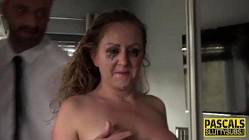 a comadre la Huge boobies suck
