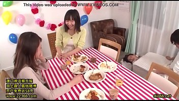 japanese son loves much her too Gagguing on cum