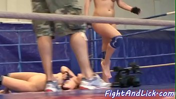 gay wrestling ballbash Lez feet licking