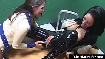 latex malicia monroe Tv strip show