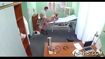 at amateur fake doctor wife Virginia girls have to pay for the hut1
