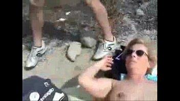 public stranger beach Milfhunter stacie starr