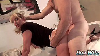 front of husband in doctor Wite wife d loves black gangbang