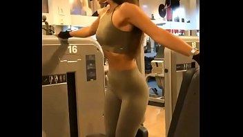 gym man on Teen ex pov footjob