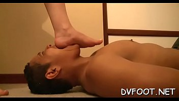 interview in soles the ethnic feet salon and Hung upside down anally dildoed