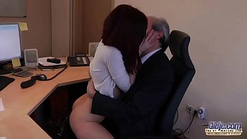 homemade secretary his boss films 20 year old loves creampies in her pussy