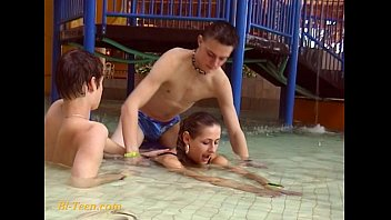 bisexual mmf dp Babe invites male friend over for some dp fun