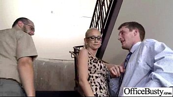 girl boobs office big Group straight cam