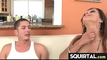 and hard with cums vibrator she webcam dildo Forced to fuck truck hitch