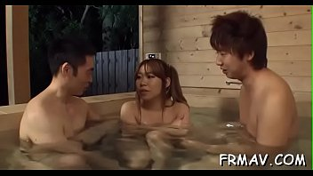 hot voyeur spring japanese Son forces hot hom