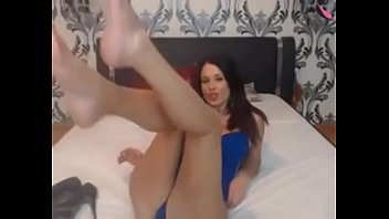 asian feet cam Under her footjobs long nails