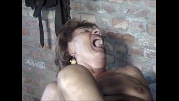 oma rita mmf Skinny girl with saggy tits