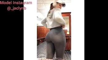 chocolate booty big oil Tight pussy nailed by thick in the gym