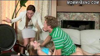 caught by kitchen stepmom in Filming mom suck