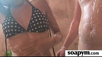 squirt pops cum cherry and her with cock huge make dad Needle in butt